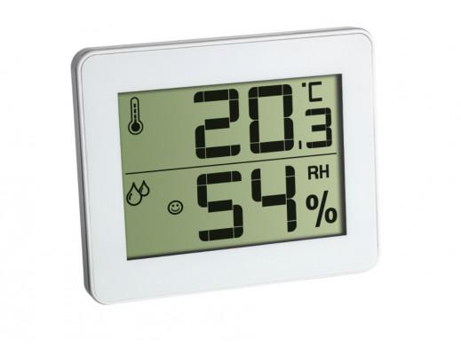 Cyfrowy termohigrometr TFA 30.5027 biały