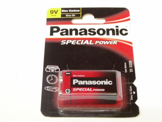 Bateria R-9V PANASONIC 6F22 9V