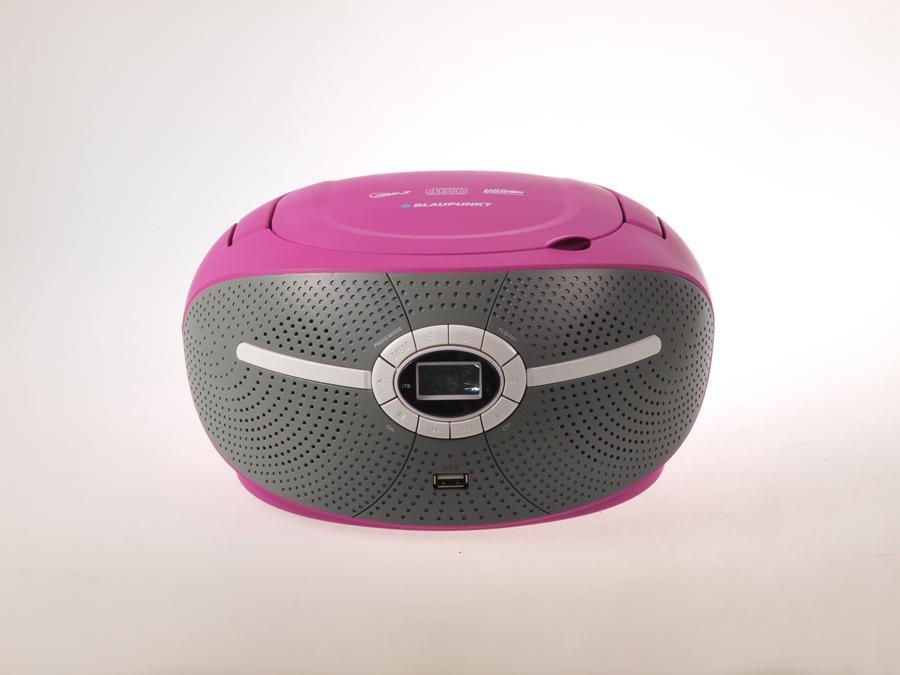 Boombox FM USB/CD/MP3/AUX BB6VL Blaupunkt POSERWISOWY Delikatne ślady użytkowania, tylko boombox i instrukcja