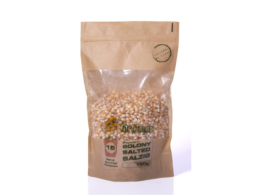 Popcorn solony Mr. Popic 750g