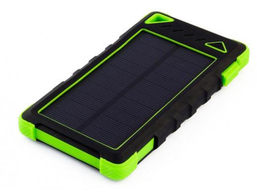 Ładowarka solarna Powerneed S8000G 8000mAh zielona
