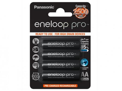 4x akumulatorki Eneloop Pro...
