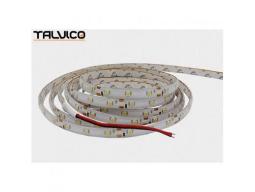 Sznur LED 3528 biała zimna w silikonie 12V 24W Talvico odcinek po 5cm IP65