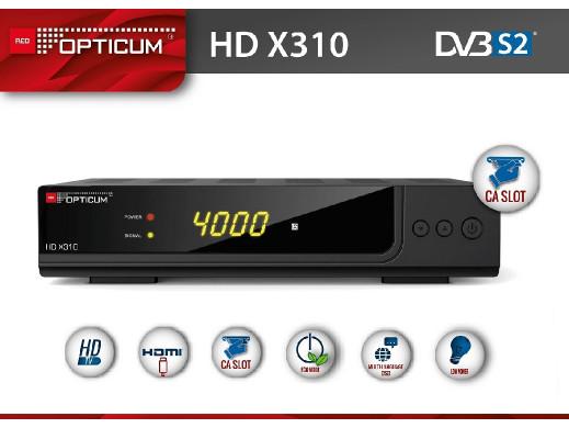 Tuner Opticum HD X310 PVR