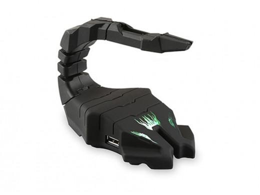 Uchwyt na kabel myszy Rampage R-H1 2xUSB