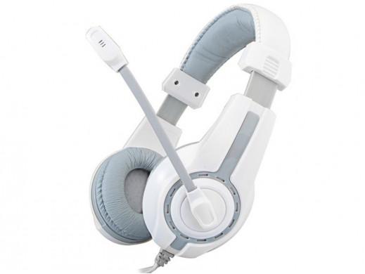 Słuchawki gamingowe Rampage SN-R1 białe