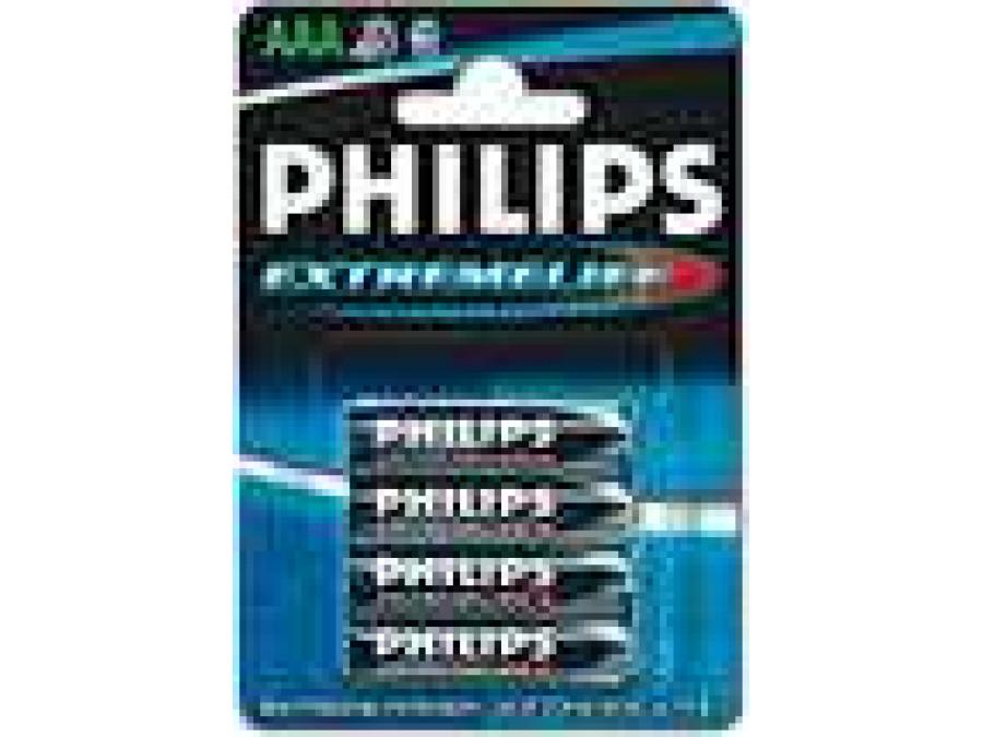 Bateria R-03 Philips extreme life alkaiczna