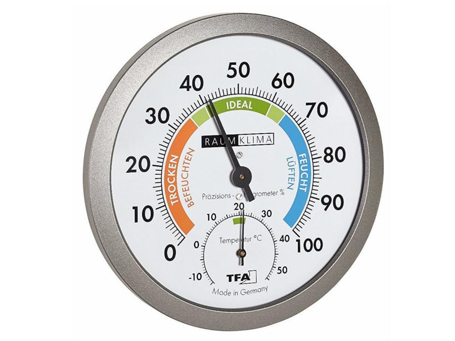 Bezbateryjny termohigrometr...