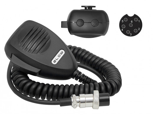 Mikrofon-Gruszka CB 6pin z...