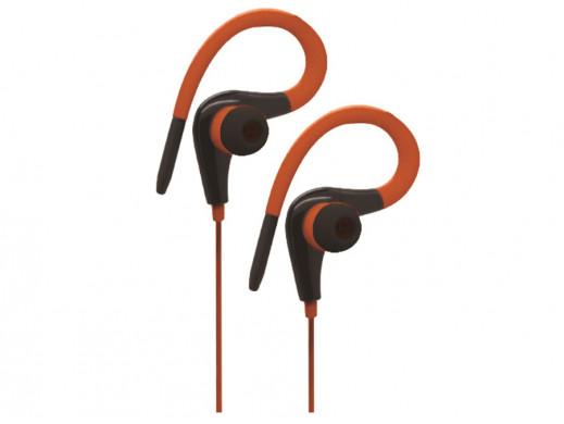 Słuchawki sportowe X-Zero X-H361O pomarańczowe