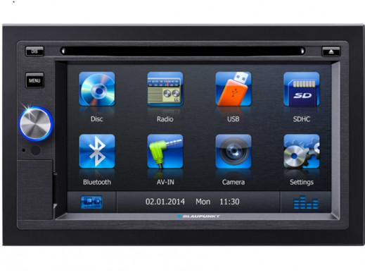 Radio samochodowe DVD/BT/USB/GPS San Diego Blaupunkt