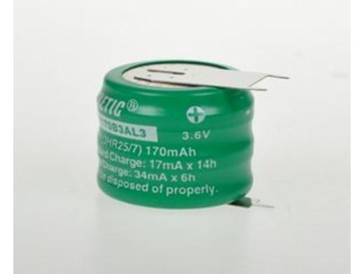 Akumulator MH170B3AL3 170mAh 3,6V Kinetic 3pin do druku