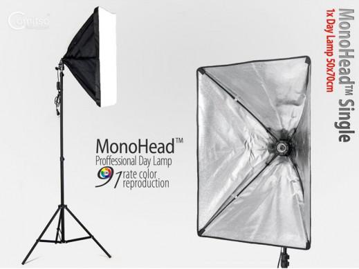 Zestaw fotograficzny MonoHead ze statywem
