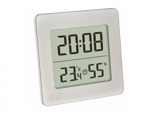 Cyfrowy termohigrometr TFA 30.5038 srebrny