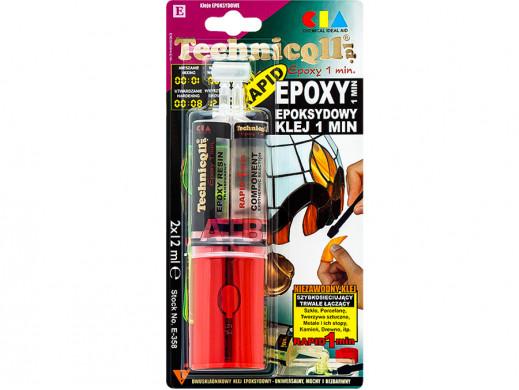 Klej Epoxy 2x12ml bezbarwny...