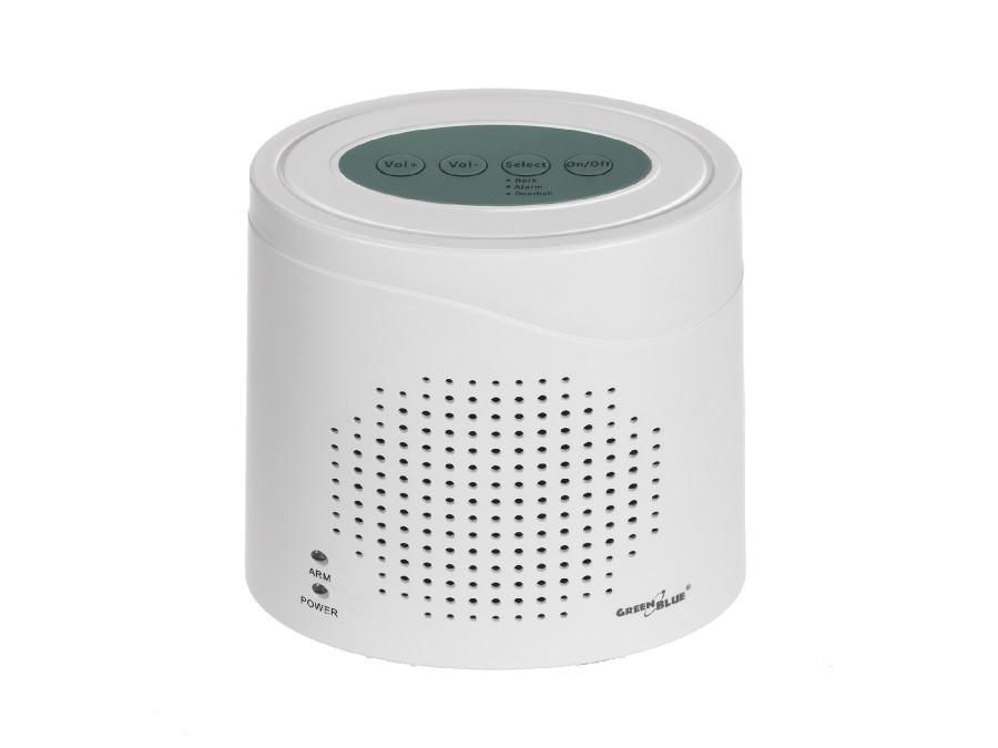 Bezprzewodowy alarm GreenBlue GB115  szczekanie psa, czujnik mikrofala, działa przez drzwi