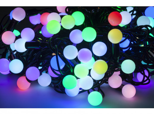 Lampki choinkowe LED RGB z...