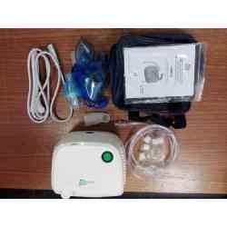 Inhalator BR-CN116B Omnibus biały POSERWISOWY, ślady użytkowania.