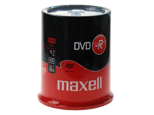 MAXELL DVD-R 4,7GB 16X...