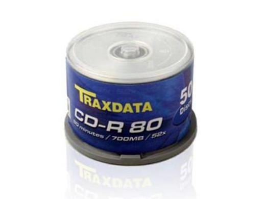 TRAXDATA CD-R 700MB 52X CAKE*50 9017E3ITRA002