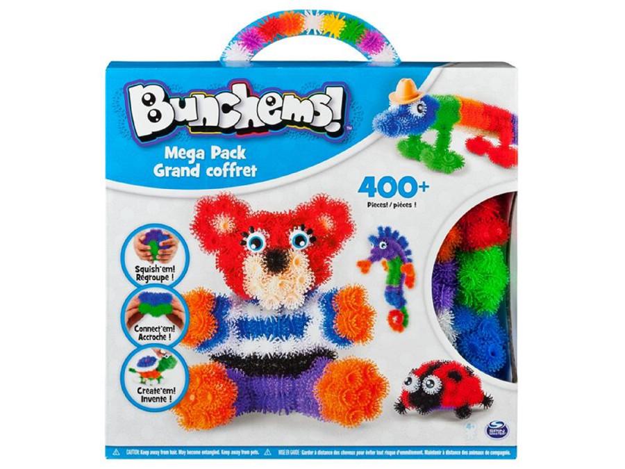 Kolorowe rzepy Bunchems Mega Pack 400+ elementów