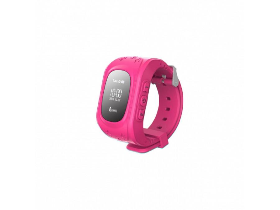 Zegarek dla dzieci z GPS SGPS-01P Art różowy