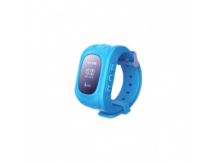 Zegarek z GPS SGPS-01B Art niebieski