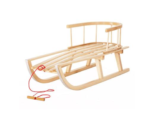 Sanki drewniane klasyczne z...