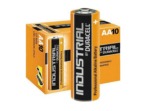 10x baterie alkaliczne...