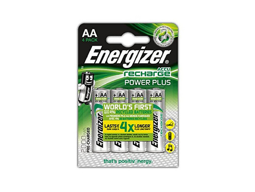4x akumulatork R-06 R6/AA 2000mAh i Energizer Power Plus