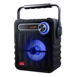 Głośnik przenośny Bluetooth Black Audiocore AC810, FM, USB, 1200mAh, moc PMPO 75W