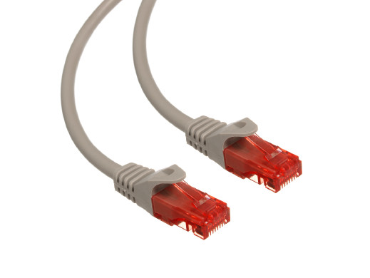 Przewód kabel patchcord UTP cat6 wtyk-wtyk 3m szary Maclean MCTV-303 S