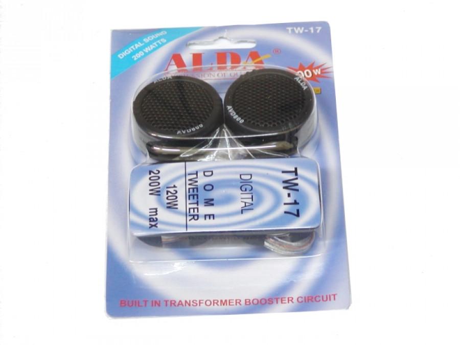 Głośniki samochodowe AVD 800 HL-005 TW-17 Alda wysokotonowe