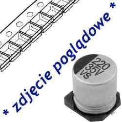 Kondensator elektrolityczny SMD 1uF/50V 4*5,3mm