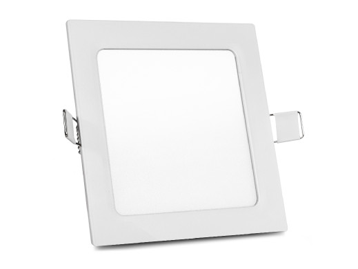 Panel LED sufitowy podtynkowy slim 12W Cold white 5500-6500K Led4U LD154C  170*170*H20mm