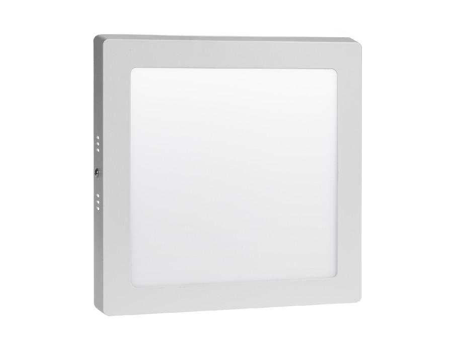 Panel LED natynkowy slim 18W Cold white 5500-6500K Led4U LD156C 225*225*H40mm