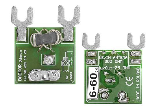 Symetryzator antenowy 6-60...