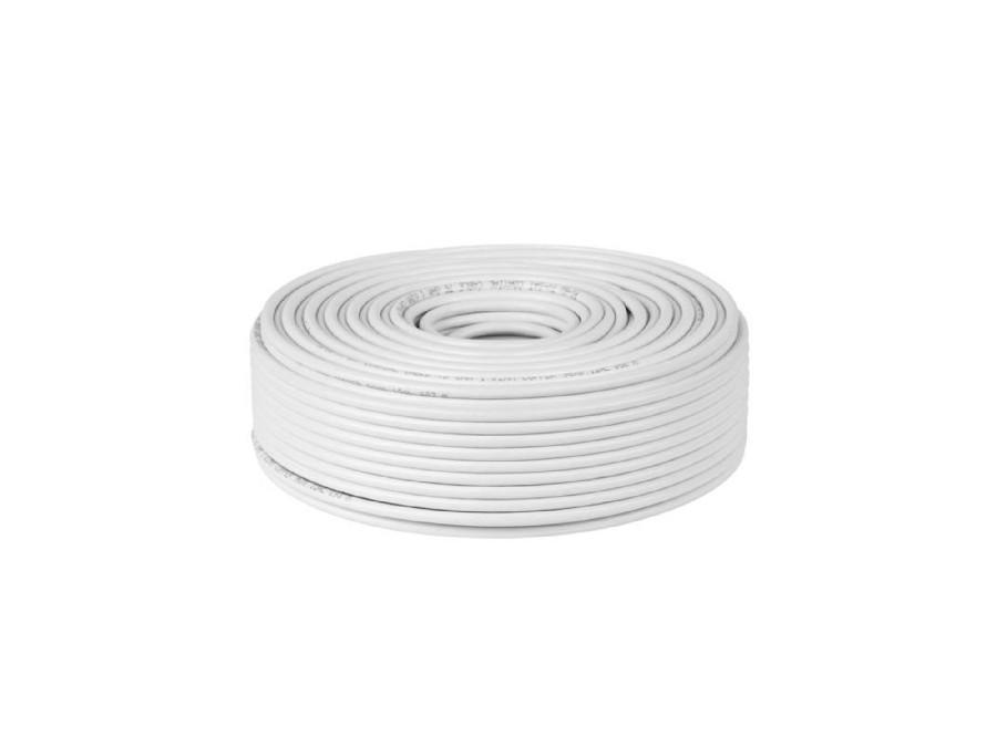 Kabel koncentryczny RG6-U CCS 100mb Cabletech