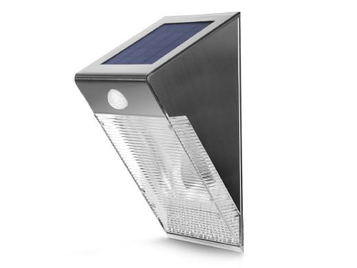 Lampa solarna ścienna 4 SMD...