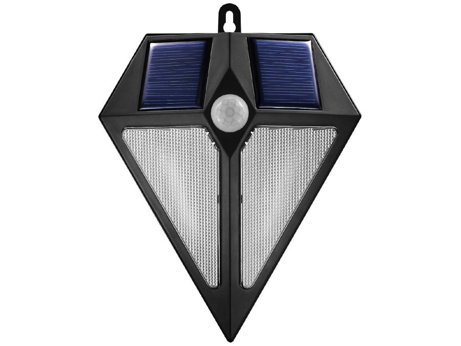 Lampa solarna ścienna 6 LED...