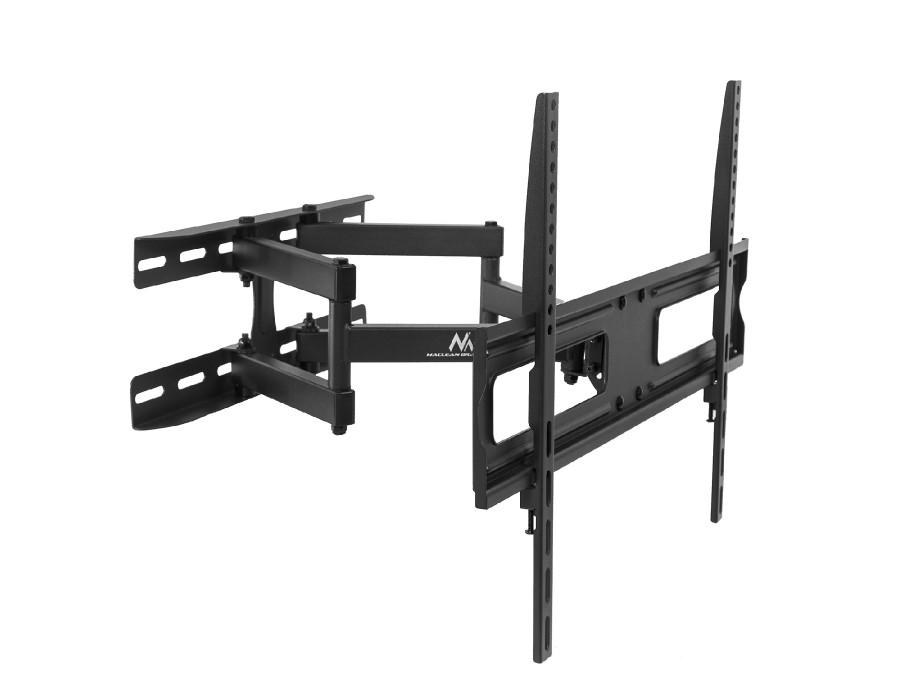 "Uchwyt do telewizora  lub  monitora 37-70"" 30kg uniwersalny Maclean MC-762 czarny max vesa 600x400"