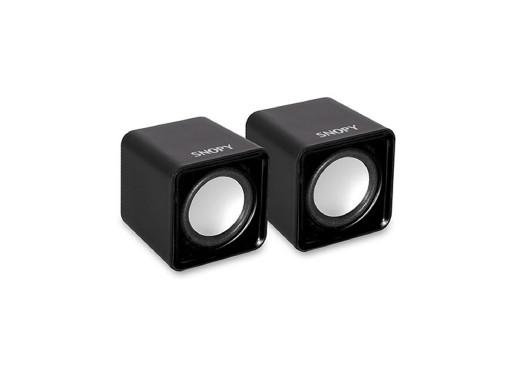 Głośniki komputerowe USB Snopy SN-66 czarne