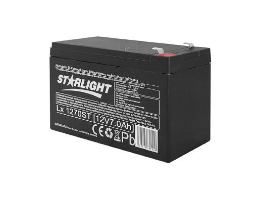 Akumulator żelowy LX1270 12V 7Ah