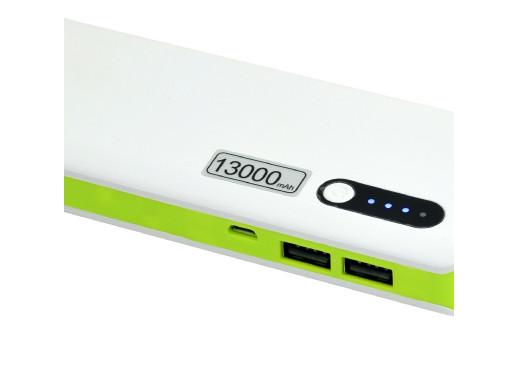 Powerbank 13000mAh Msonic MY2590WE zielony
