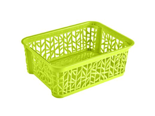 Koszyk Bamboo 3 290x220x120 BranQ limonka
