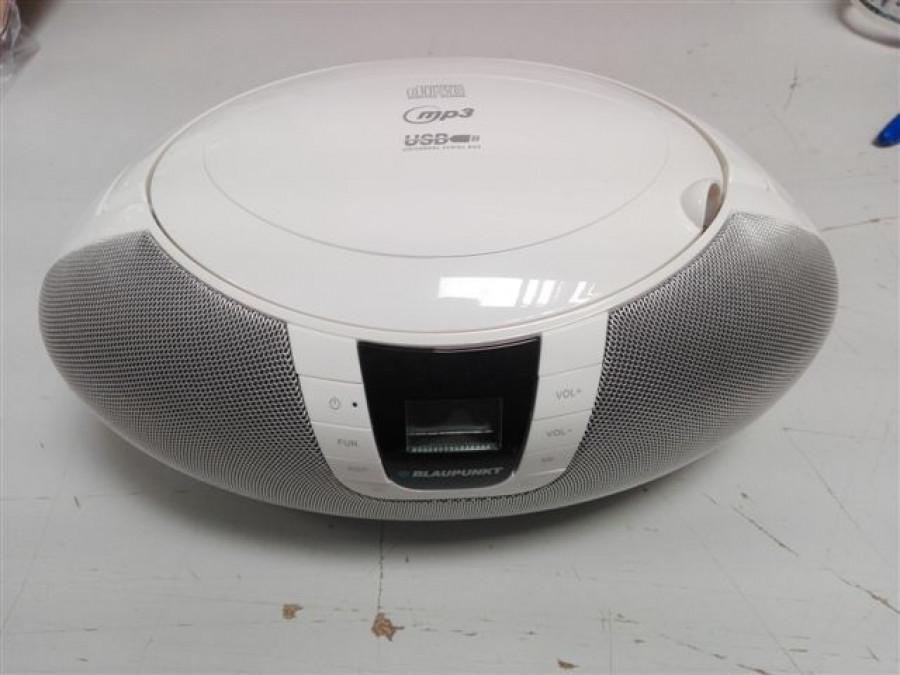 Radioodtwarzacz CD/USB BB11WH Blaupunkt POSERWISOWY powystawowy, drobne zarysowania, brak opakowania