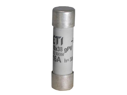 Wkładka topikowa CH10x38 16A 500V 002620009 ETI