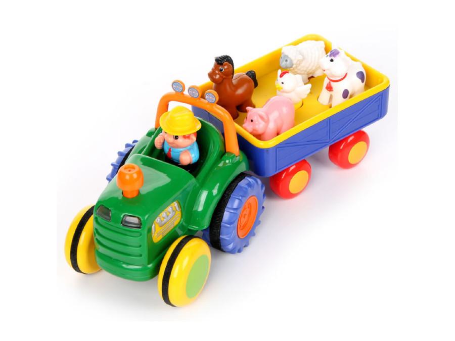 Zabawka interaktywna Dumel Traktor Farmer PL