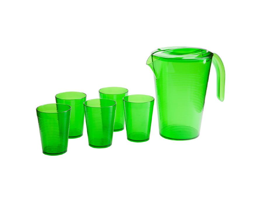 Zestaw do napojów Berossi Fresh zielony