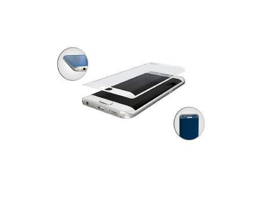 Szkło hartowane 9H 3MK HardGlass Max Samsung S6 Edge White